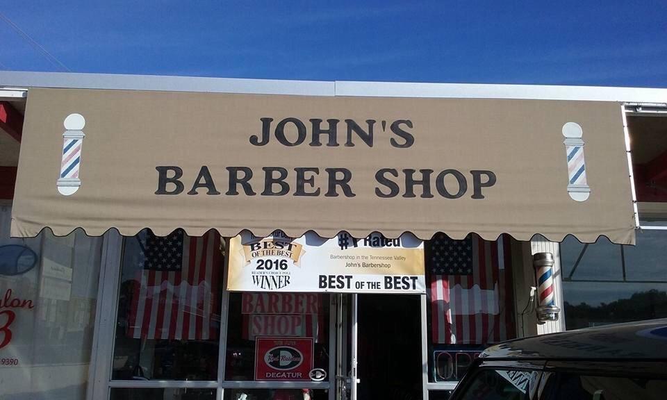 John's Barber Shop: 1804 11th St SE, Decatur, AL
