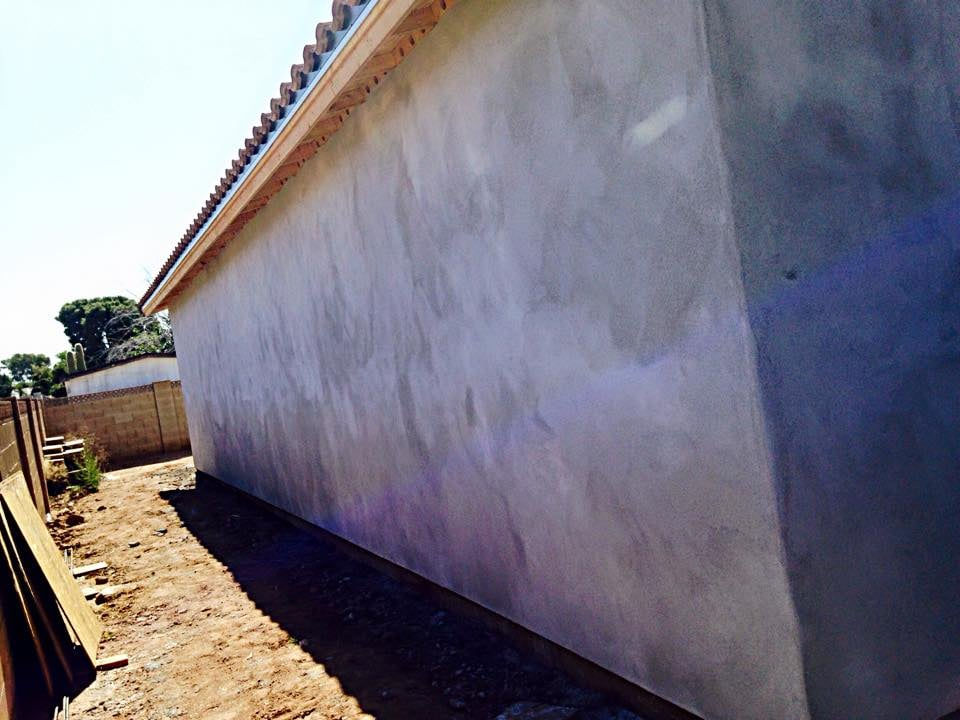 Side 2 Of The Detached Garage With New Stucco Yelp