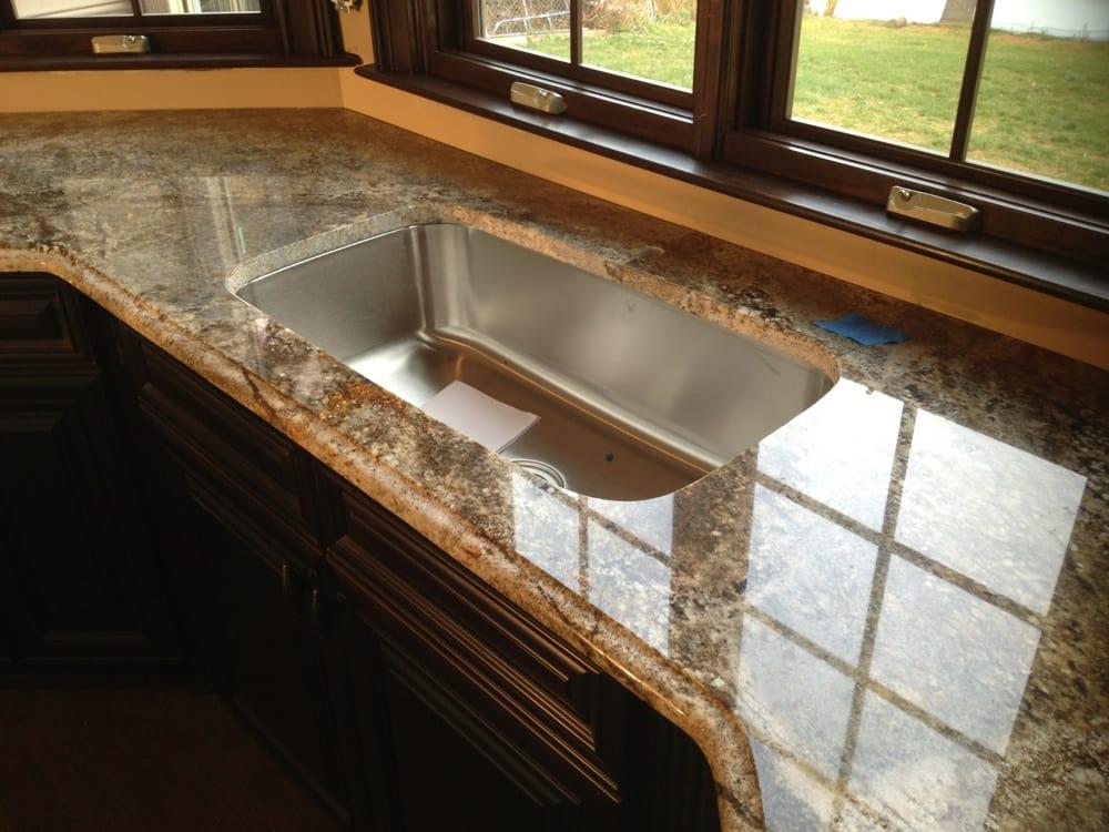 Aj brown granite countertops http for Granite countertop support requirements