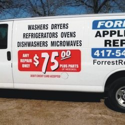 Photo Of Forrest Liance Repair Forsyth Mo United States Stocked Full