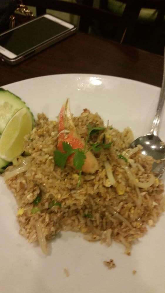 Crab fried rice yelp for Ayara thai cuisine los angeles