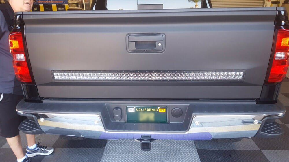 2015 silverado custom moulding 50 rigid led light bar into 2015 silverado custom moulding 50 rigid led light bar into tailgate before yelp mozeypictures Choice Image