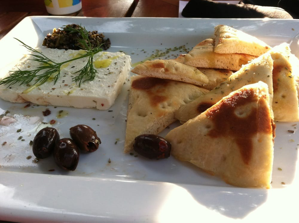 Olives feta cheese and pita bread yelp for Authentic greek cuisine