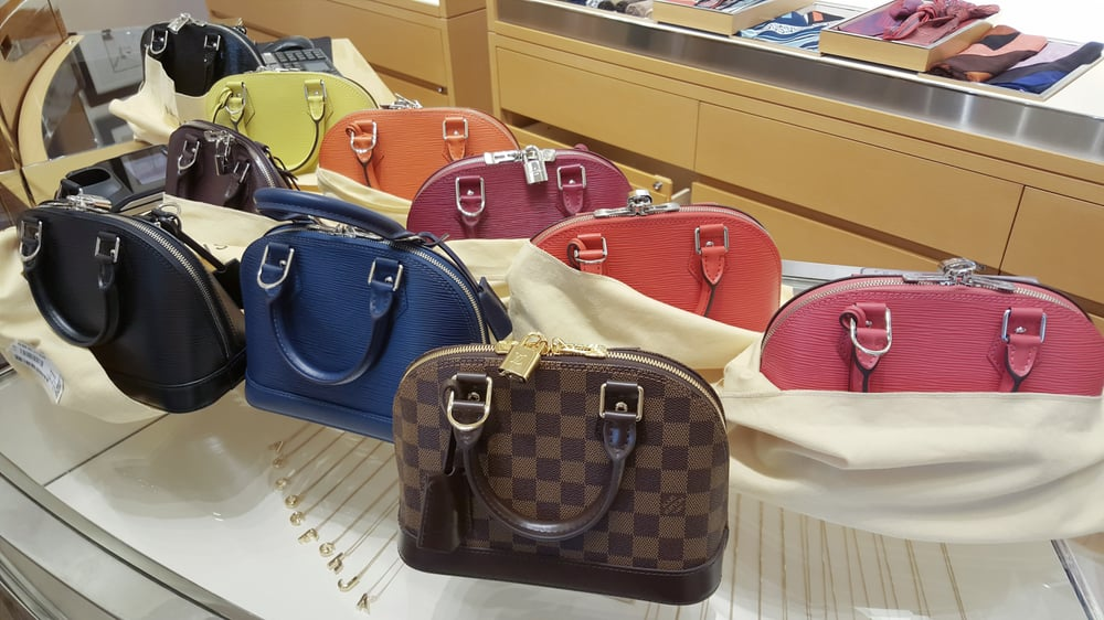 Alma BB Epi in a variety of colors   Damier Ebene - Yelp 67c9ad833b4bc