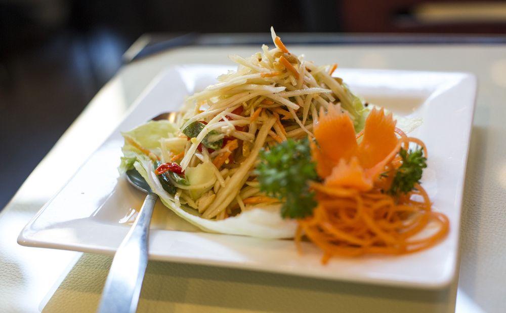 Thai Dish Authentic Cuisine: 270 Babcock St, Boston, MA
