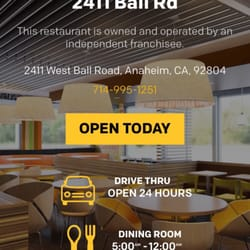 mcdonald's - 17 photos & 46 reviews - fast food - 2411 w ball rd