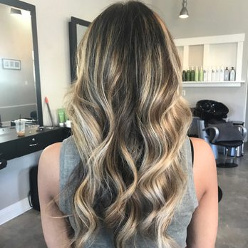 Super strong balayage to keep the yellow out of this