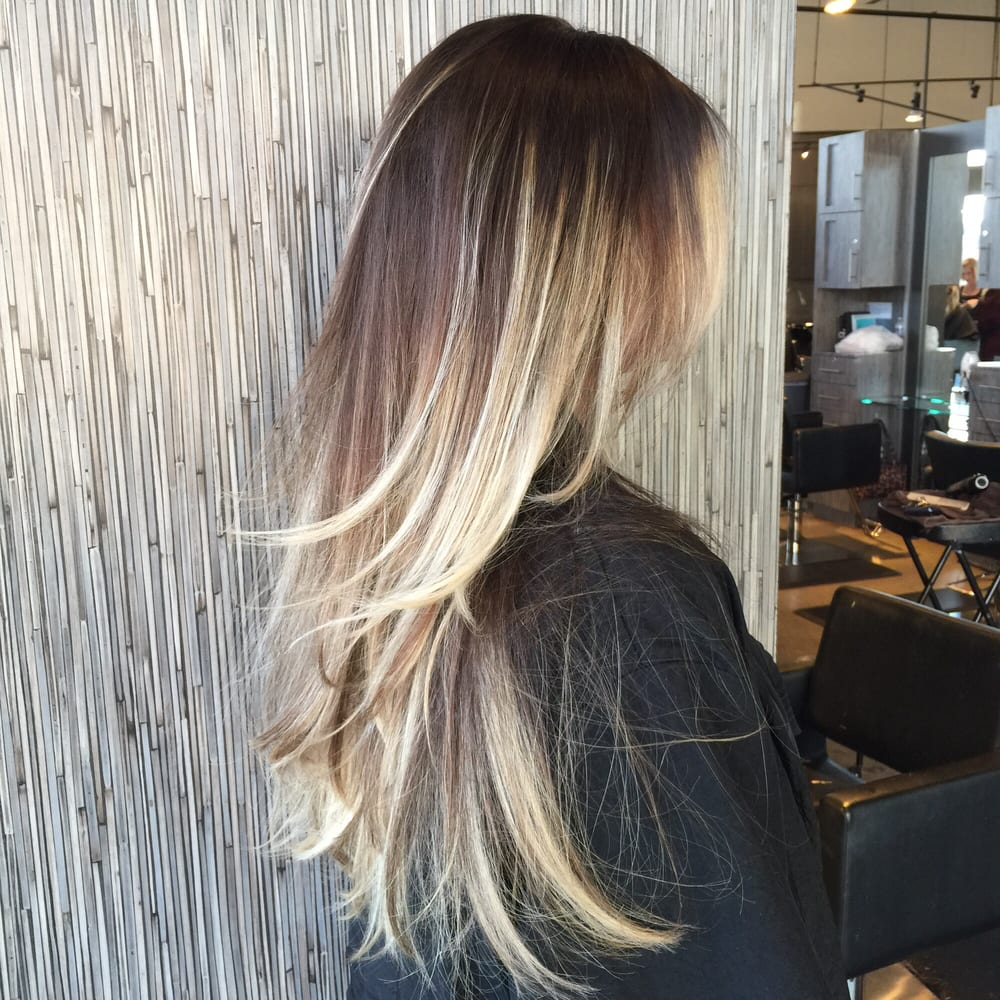 Gorgeous long hair with blonde balayage by brianna muniz for 2 blond salon reviews