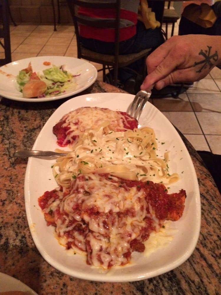 Some italian trio chicken parmesan lasagna fettuccine - Olive garden italian restaurant las vegas nv ...