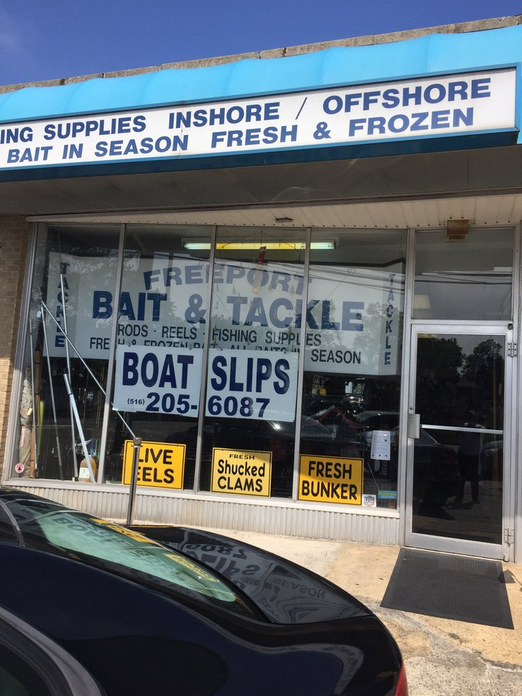 Freeport Bait & Tackle: 315 S Main St, Freeport, NY
