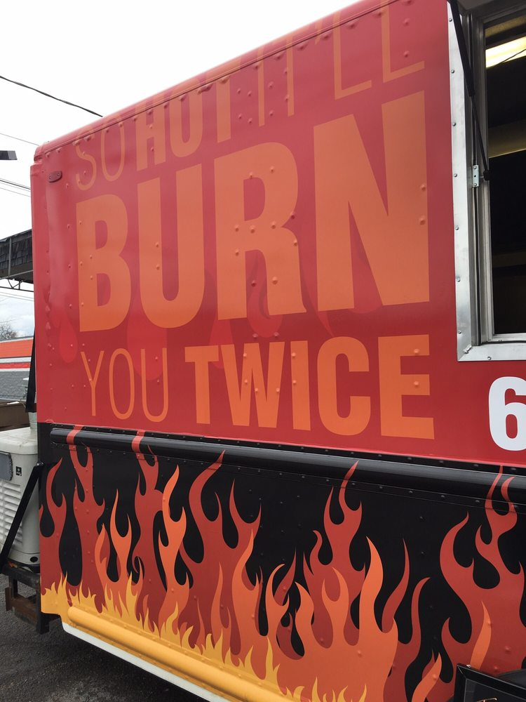 Ha Love The Slogan On The Side Of The Food Truck Yelp