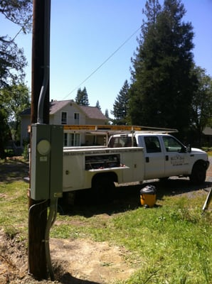 l Old Mobile Home Service Poles on mobile home power pole, mobile home intertherm furnace wiring diagram, mobile home 200 amp wire, mobile home electric pole,