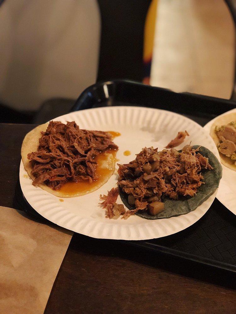 Revolutionario: North African Tacos: 1436 W Jefferson Blvd, Los Angeles, CA