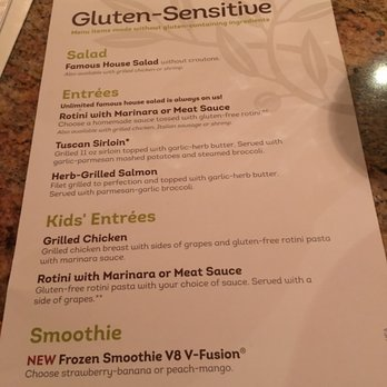 Olive garden italian restaurant 60 photos 82 reviews - Gluten free menu at olive garden ...