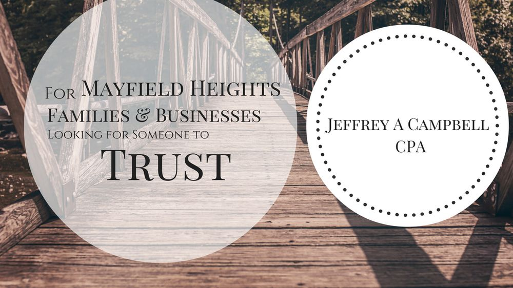 Jeffrey A Campbell, CPA: 6110 Mayfield Rd, Mayfield Heights, OH