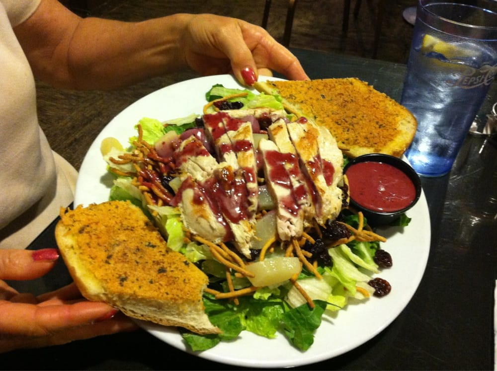 Orchard Chicken Salad Very Big Piece Or Chicken And Tasty
