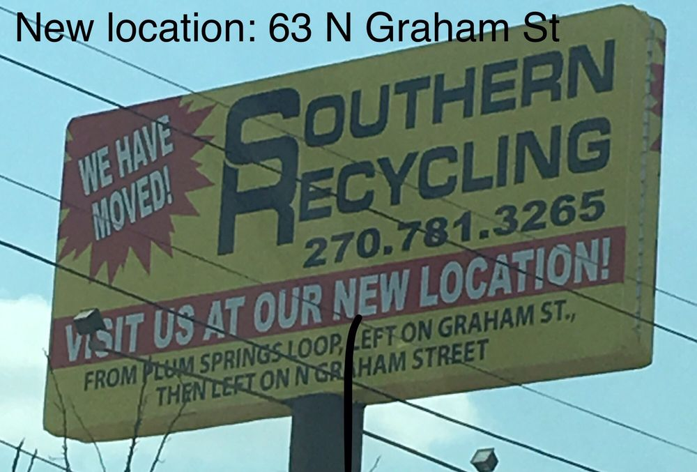 Southern Recycling: 620 Clay St, Bowling Green, KY