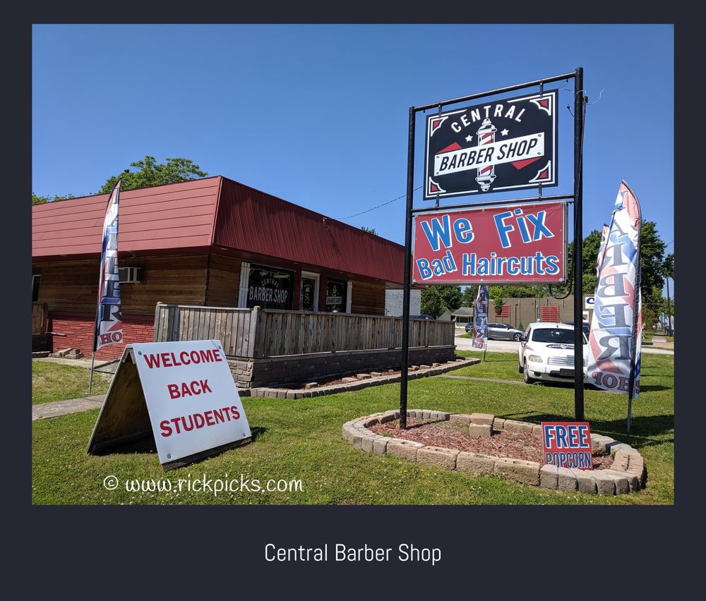 Central Barber Shop: 804 E Central Ave, Miami, OK