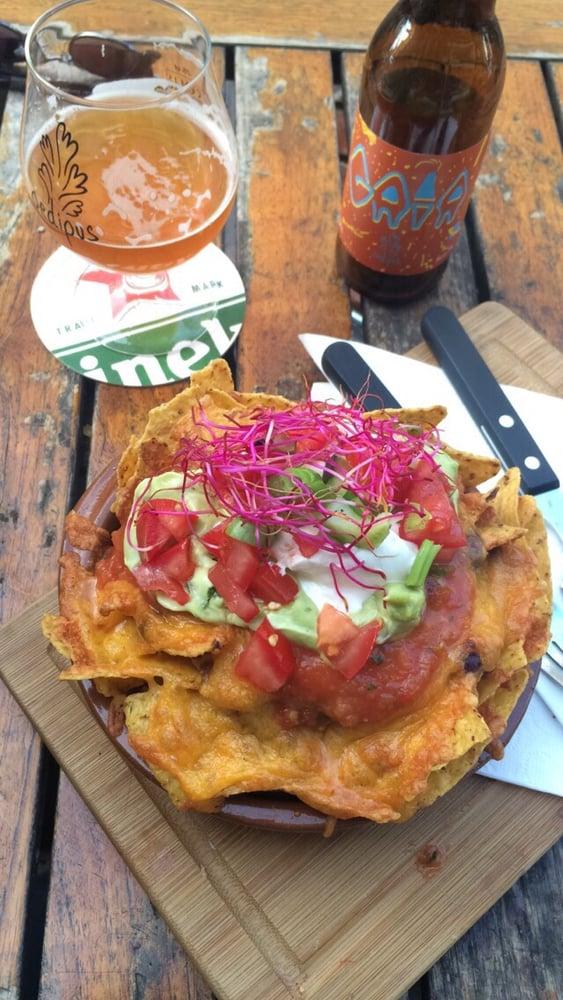 Best steak nachos ever yelp for Harlem food bar yelp