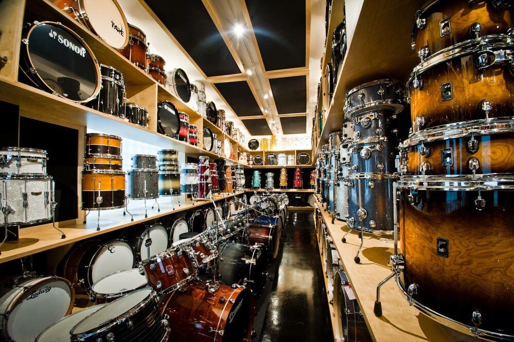 vic s drum shop 23 photos 32 reviews musical instruments teachers 345 n loomis near. Black Bedroom Furniture Sets. Home Design Ideas