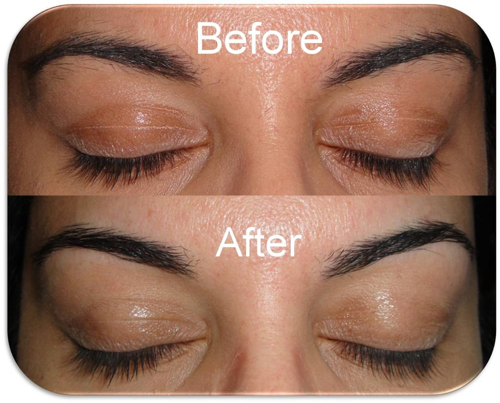Eyebrow Threading Before and After - Yelp