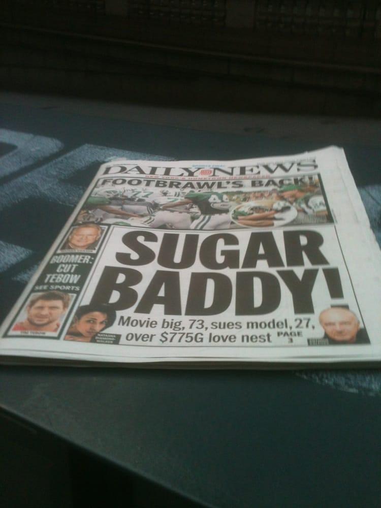 40th Street Newspaper Guy