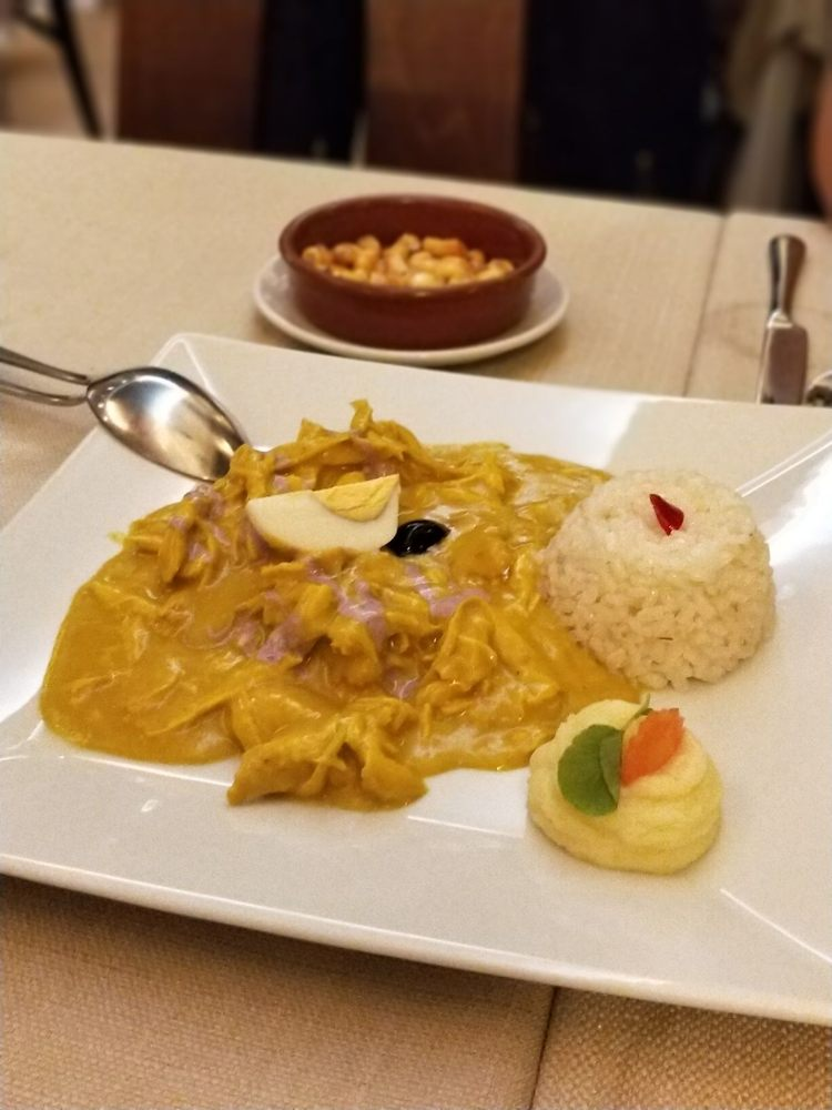 Chincha internacional 26 fotos cocina peruana calle for Cocina internacional madrid