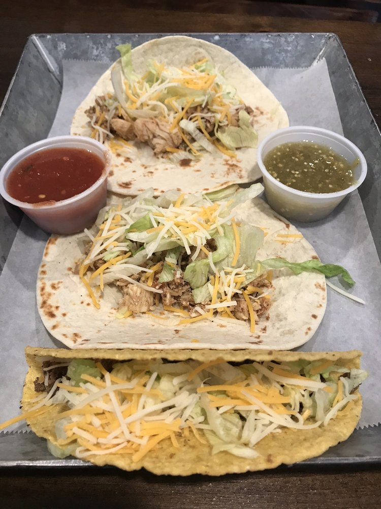 Taco: 113 E College Ave, Pleasant Gap, PA