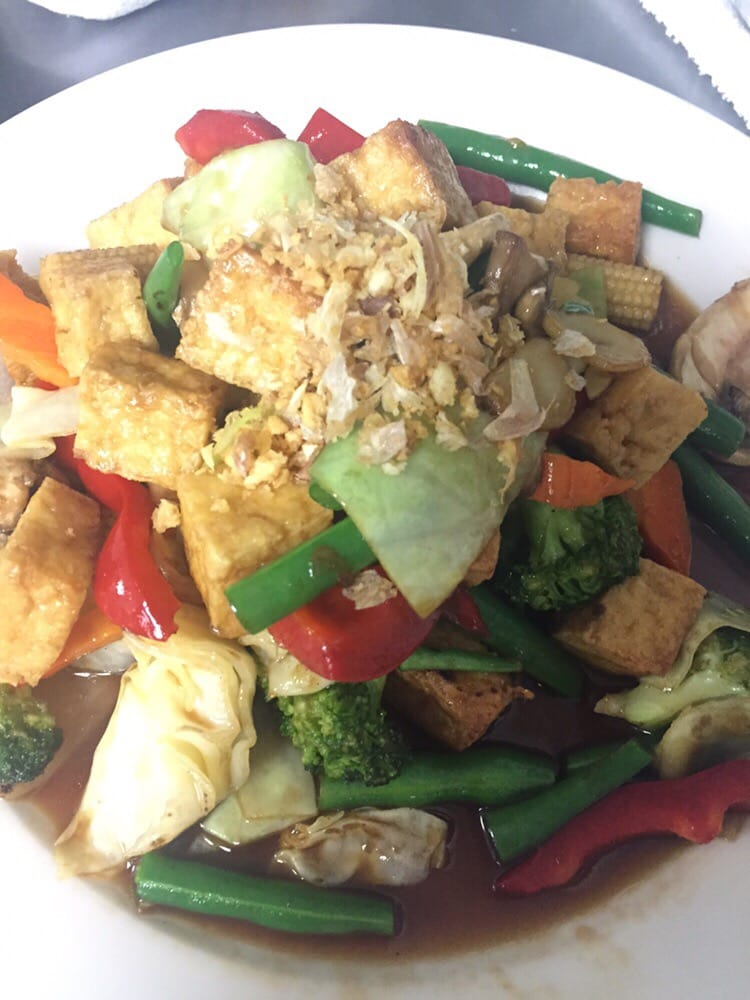 Veggie deli yelp for Anothai cuisine cypress tx