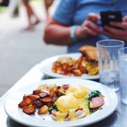 Photo Of Sabrina S Café Philadelphia Pa United States Eggs Benedict With Canadian