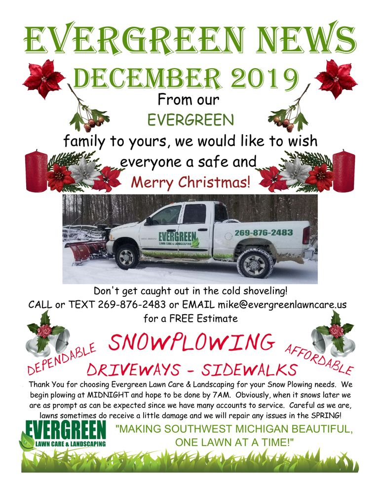 Evergreen Lawn Care & Landscaping: 2422 Dewey Ave, Benton Harbor, MI