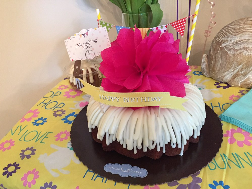 Baby Girls First Birthday Cake Drizzle Frosting Carrot Cake Yelp