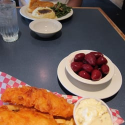 Photo Of Ox Yoke Restaurants Williamsburg Ia United States Fried Fish