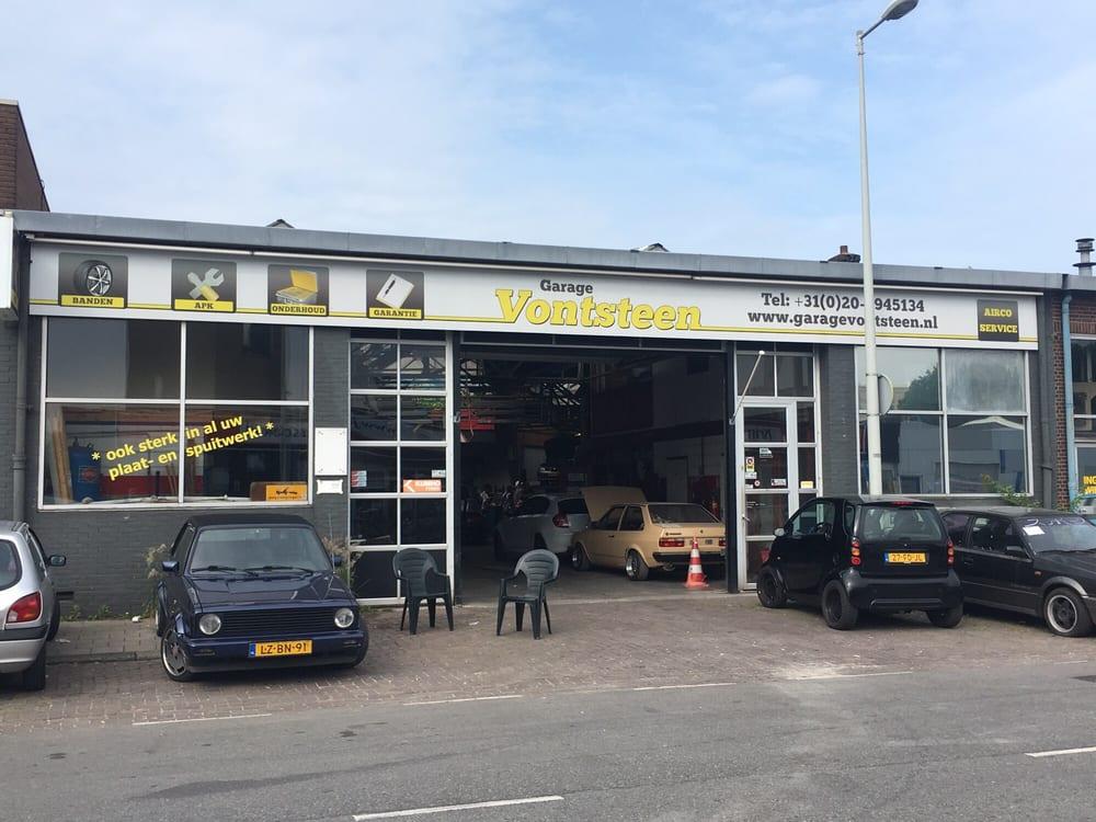 Honda Garage Utrecht : Garage vontsteen auto repair klaprozenweg noord amsterdam