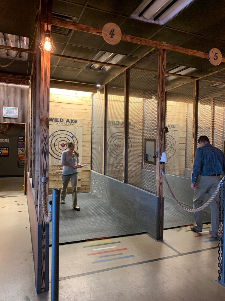 Wild Axe Throwing: 3251 Seajay Dr, Beavercreek, OH