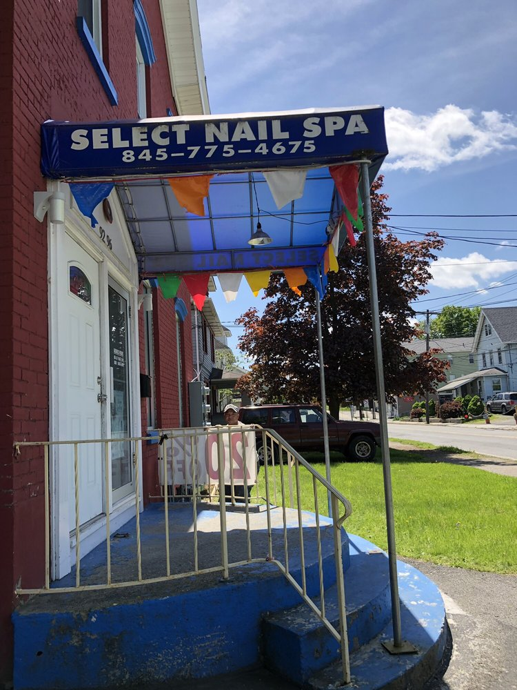 Select Nail Spa: 92-96 Academy Ave, Middletown, NY