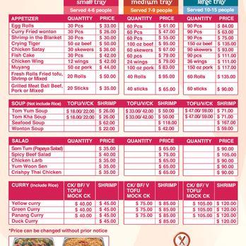 ubon thai kitchen - order food online - 280 photos & 229 reviews