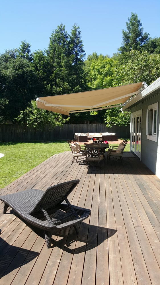 Our 20 foot retractable awning. We love it-thanks Lia! - Yelp