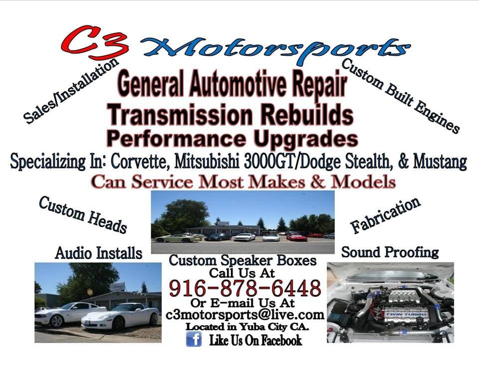 C3 Motorsports Garages 3455 Industrial Dr Yuba City