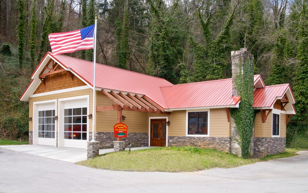 Fire Station In Townsend Tn Built By Richardson