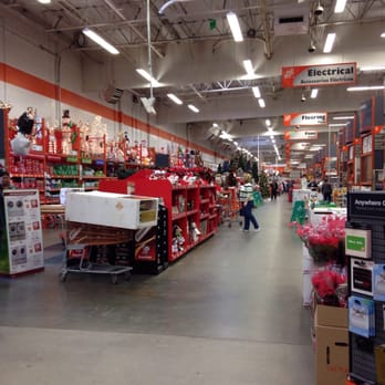 photo of the home depot elk grove ca united states so christmassy