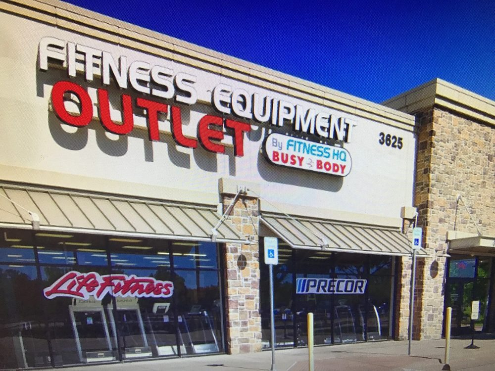 Fitness HQ Outlet: 3625 N Central Express Way, Plano, TX