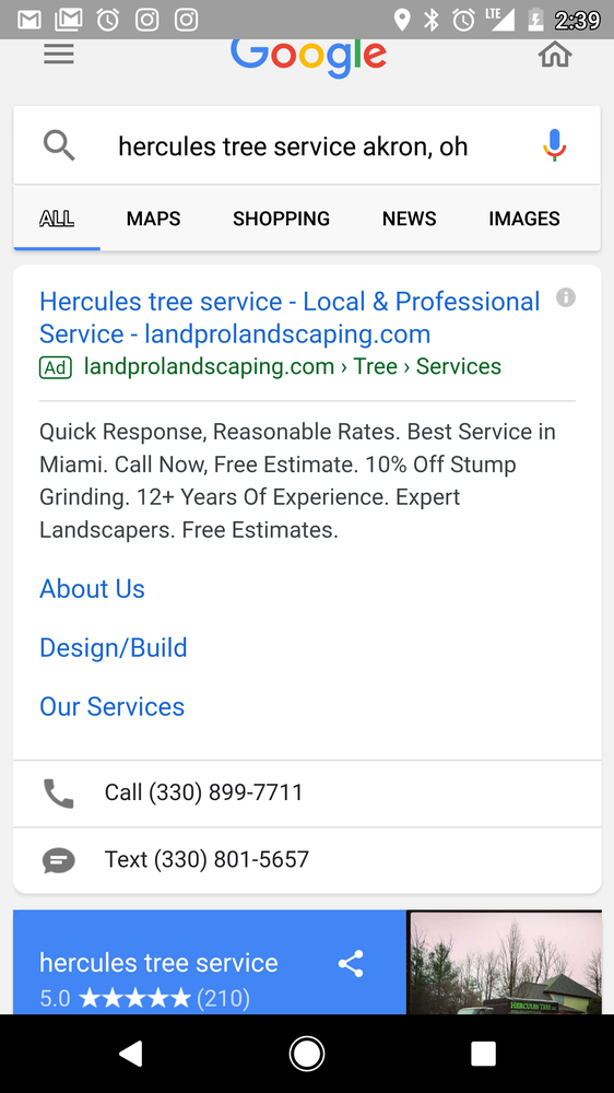 Land Pro Landscaping & Tree Service: Mogadore, OH
