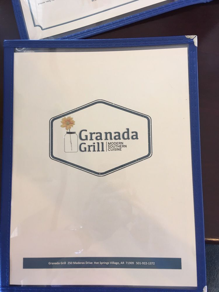Granada Grill: 250 Maderas Dr, Hot Springs Village, AR