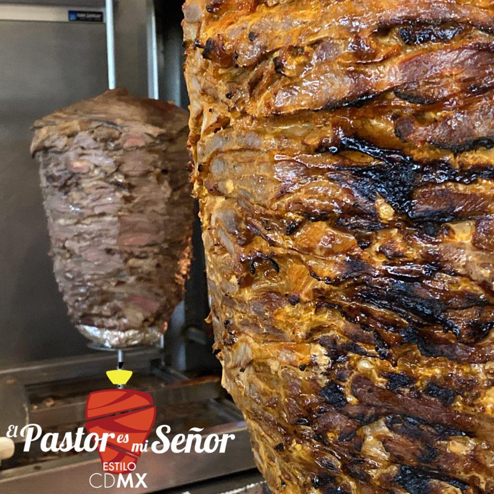 Food from El Pastor Es Mi Señor