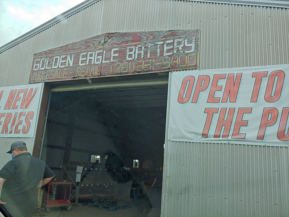 Golden Eagle Battery: 20000 E Highway 6, Alvin, TX