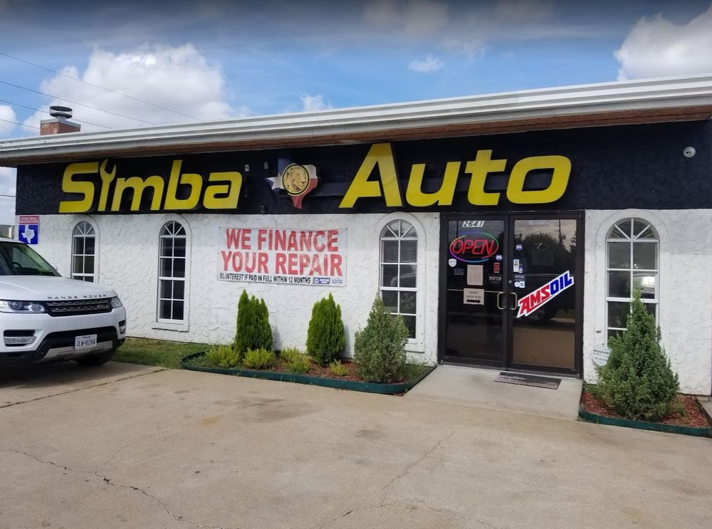 Simba Automotive: 2641 Old Max Ct, Pearland, TX