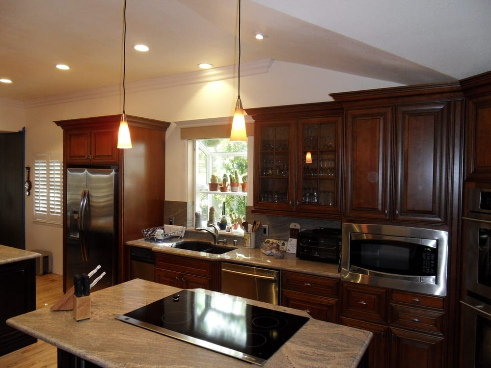Complete kitchen remodel expanded original kitchen into for Complete kitchen remodel