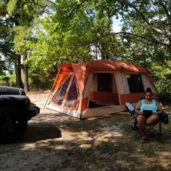 Photo of Kings Dominion C& Wilderness - Doswell VA United States. Tent site & Kings Dominion Camp Wilderness - 18 Photos u0026 15 Reviews ...