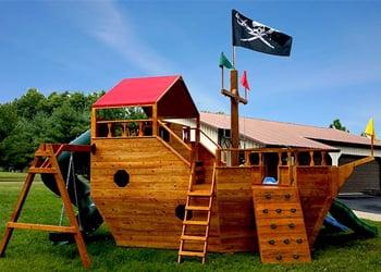 Pirate Ship Swing Set Yelp